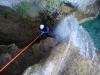 Le grand rappel sous la cascade