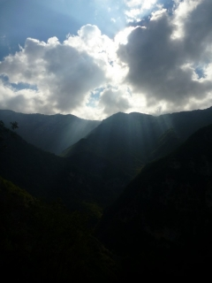 Lumière sur le vallon