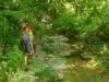 Le petite marche en rivière du début