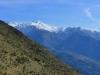 Les montagnes enneigées