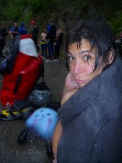 L'imberguet - Flavia attend sous la pluie !