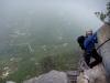 Vire de L8 : fin dans le brouillard